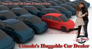 Canada's Huggable Car Dealer Cares