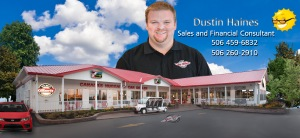 Dustin Haines Sales and Finance Consultant