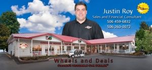 Justin Roy Sales and Financing Consultant