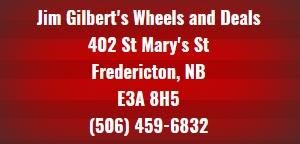 Used cars fredericton