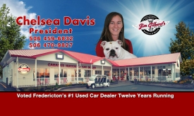 Chelsea Davis 2017 Business Card II