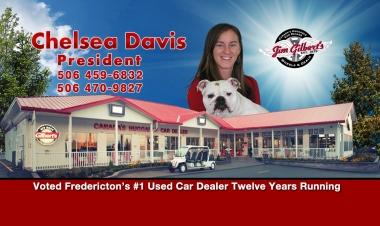 Chelsea Davis 2017 Business Card II